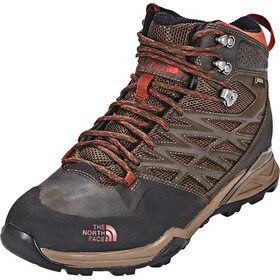 The North Face Hedgehog Hike Mid GTX - Chaussures Homme - marron